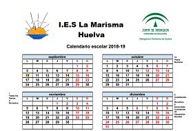 Calendario Escolar Huelva.Oferta Educativa